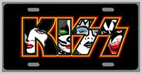 L@@K! KISS - Car Vanity Tag - License Plate