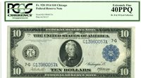 Fr 928 $10 1914 Chicago Federal Reserve Note / Extremely Fine 40 PPQ PCGS