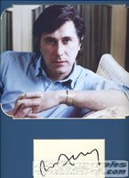 Bryan Ferry - autographed card #401