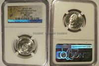 2019 S Guam War in the Pacific NP Quarter 25c NGC MS 67 First Releases