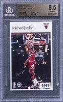 1987 Marketcom/Sports Illustrated #16 Michael Jordan - BGS GEM MINT 9.5