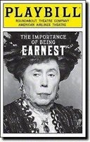 Playbill The Importance of Being Earnest Santino Fontana Jayne Houdyshell