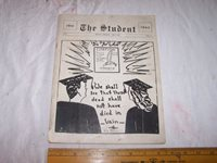 1945 BRAZIL INDIANA High School Publication w Local Ads - Students - Sports MORE
