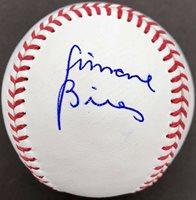 SIMONE BILES GYMNASTICS USA GOLD SIGNED OFFICIAL MLB BASEBALL PSA/DNA