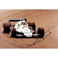 Didier Pironi original authentic genuine signed photo