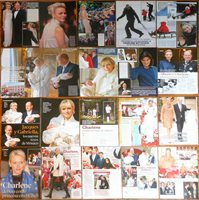 PRINCESS CHARLENE WITTSTOCK clippings photos Prince Albert Monaco Royalty
