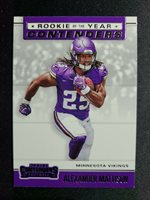 L1 2019 Panini Contenders Rookie Of The Year Alexander Mattison RCb#RYA-AM