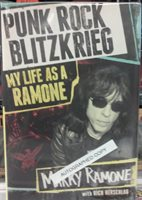 Marky Ramone Signed Book