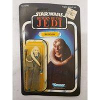 Vintage Star Wars ROTJ Carded Bib Fortuna // C6.5