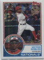 2018 Topps Series 1 VICTOR ROBLES RC 1983 Silver Pack Chrome - NATIONALS - #27