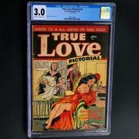 TRUE LOVE PICTORIAL #2 (St John 1953)  CGC 3.0  16 IN CENSUS! MATT BAKER Cvr