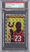 1985 Prism/Jewel Stickers Michael Jordan Rookie Card – PSA MINT 9