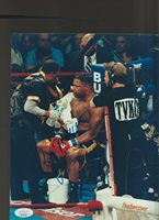 RAY MERCER Autographed Photo JSA Certified STOCK PHOTO