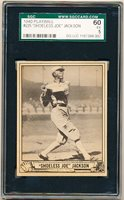 1940 Playball Baseball- #225 Joe Jackson- Hi#- SGC 60 (EX 5)