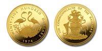 Bahamas 1974 Flamingos $2,500 Gold Proof Coin
