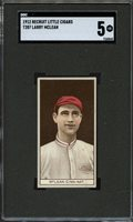 1912 T207 BROWN BACKGROUND LARRY MCLEAN