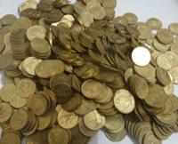 1403 AH 1983 Kuwait 1 Fils Coin KM # 9 (VF) & (XF)