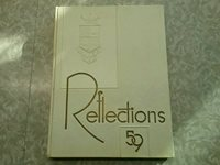 Niles East and West Township High School. Skokie, IL, Reflections Yearbook 1959