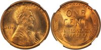 1909 Lincoln 1C NGC MS67 Red