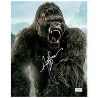 Andy Serkis Autographed Skull Island 8×10 Kong Photo
