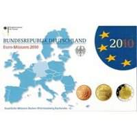 2010 Germany 9-Coin EURO Proof Sets