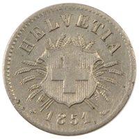 Suisse, Confédération Helvétique, 5 Rappen