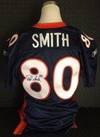 ROD SMITH Denver Broncos Signed Authentic Game Jersey - Autographed PSA/DNA COA