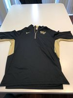 Team Issued Wake Forest Demon Deacons Basketball Nike Shooting Shirt Size XL #0