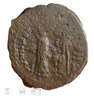 Heraclius Basileus 610-641AD Restrike CONSTANTINOPLE over THEOPOLIS