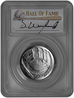 2014-D 50C Baseball Hall Of Fame (PCGS-MS70) Dave Winfield (1 of 7 Gold Glove Award)