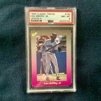 PSA 8 Ken Griffey Jr 1989 Classic #193 Seattle Mariners Rookie Card NM-MT HOF