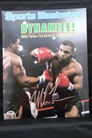 Mike Tyson signed 11x14 autographed photo PSA ITP 6A83662