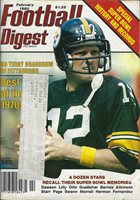 Football Digest Feb. 1980 Terry Bradshaw w/Special Super Bowl History & Records