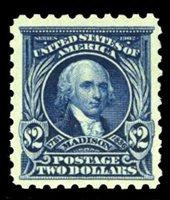 United States1910-301917 $2 dark blue, lightly hinged