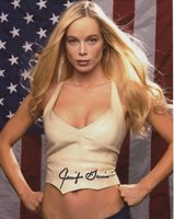 Jennifer Gareis Signed Sexy Busty Bare Belly Color 8x10 Photo With COA pj (Item ID: 401193678369)