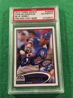 2012 Topps Update Carlos Gonzalez All-Star #US259 PSA/DNA Autograph Signed Auto