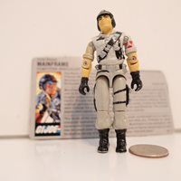 Vintage 1986 Mainframe Computer Specialist GI Joe Action Figure w/ File Card !!!