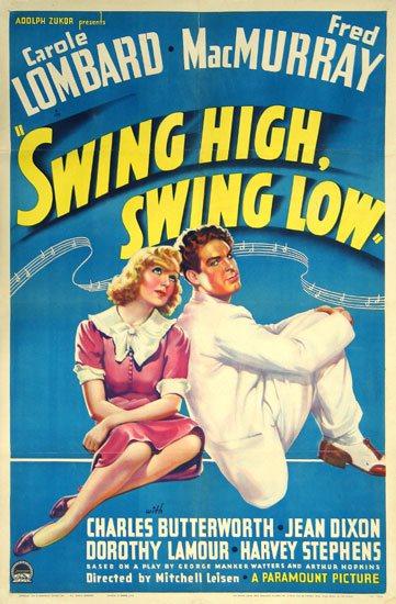 Swing High, Swing Low Movie Poster