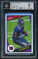 2012 Topps Chrome 1984 Refractor rookie #7 David Wilson rc BGS 9 /99
