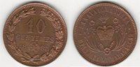 10 centimes 1883 Madagascar