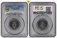 1975/XIII PCGS MS68 Vatican City 50 Lire Stylish top grade none graded higher