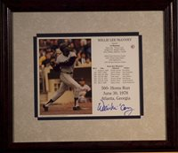 Willie McCovey Autographed Photo