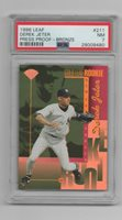 Derek Jeter 1996 Leaf Press Proof Bronze PSA 7 #211