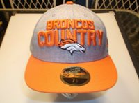 Denver Broncos NFL New Era 5950 Low Pro 2018 On stage draft day fitted hat 7 1/2