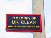 Mr Clean Patch , In memory of , Name Patch (#52) * (**)