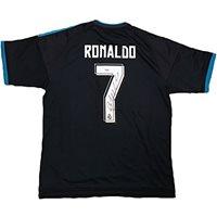 2cf338a54fe Cristiano Ronaldo Signed Real Madrid Jersey PSA DNA COA Blue