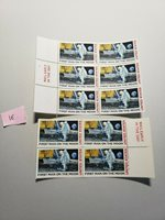 Scott #C76 10¢ 50th Anniversary MAN ON THE MOON APOLLO 11 Blocks of 4 & 6 MNH