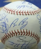 2010 San Francisco Giants Team Autographed World Series Ball