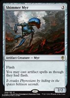 Shimmer Myr Near Mint Normal English - Magic the Gathering - Commander 2016