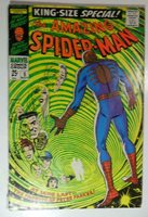 AMAZING SPIDERMAN KING SIZE SPECIAL #5 NOV 1968 RED SKULL PETER PARENTS VG/F